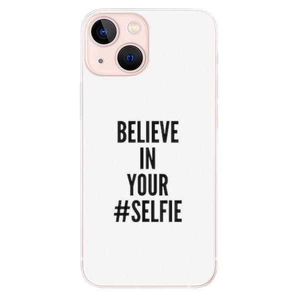 Odolné silikonové pouzdro iSaprio - Selfie - iPhone 13 mini