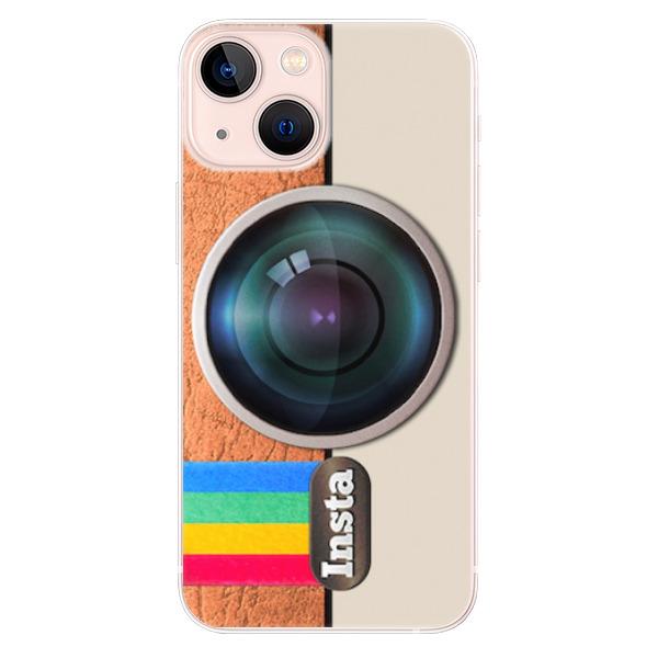 Odolné silikonové pouzdro iSaprio - Insta - iPhone 13 mini