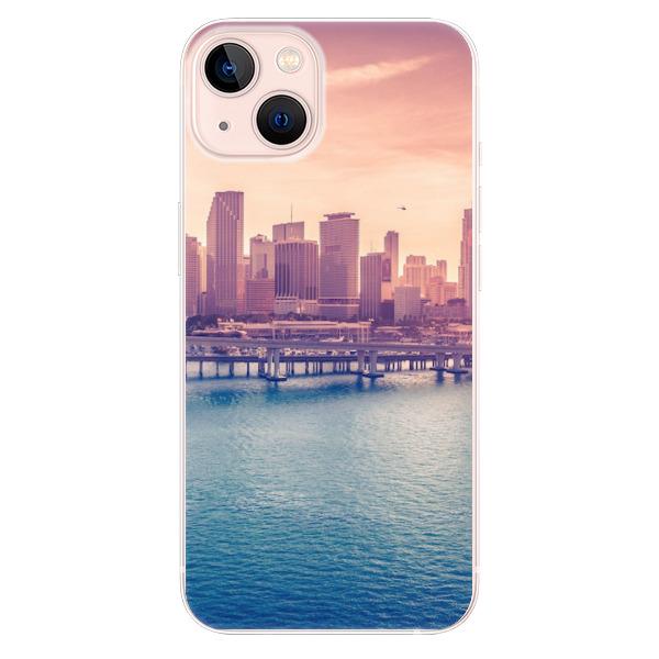 Odolné silikonové pouzdro iSaprio - Morning in a City - iPhone 13