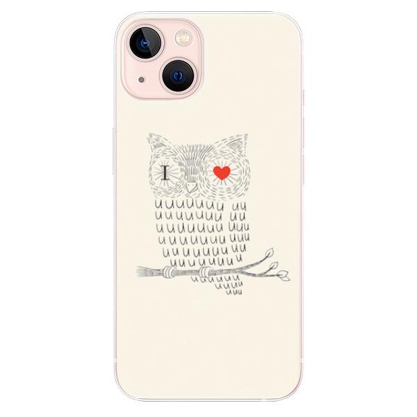 Odolné silikonové pouzdro iSaprio - I Love You 01 - iPhone 13