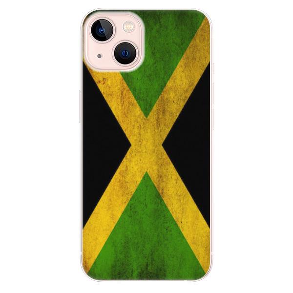 Odolné silikonové pouzdro iSaprio - Flag of Jamaica - iPhone 13