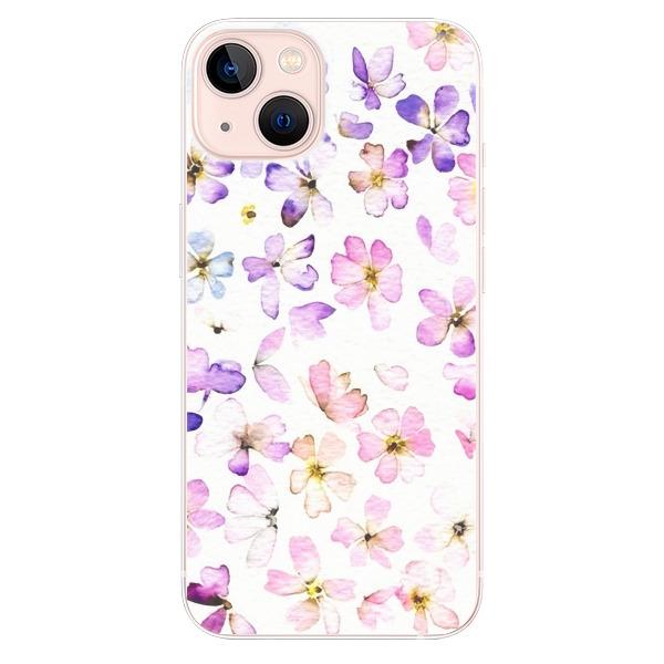 Odolné silikonové pouzdro iSaprio - Wildflowers - iPhone 13