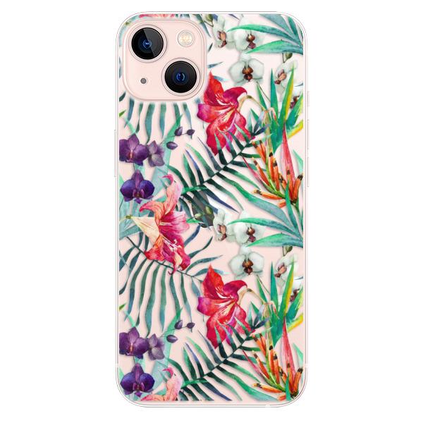 Odolné silikonové pouzdro iSaprio - Flower Pattern 03 - iPhone 13