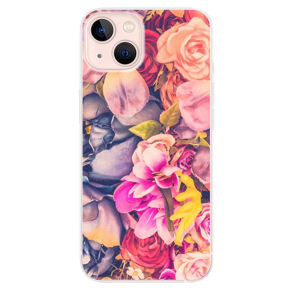 Odolné silikonové pouzdro iSaprio - Beauty Flowers - iPhone 13