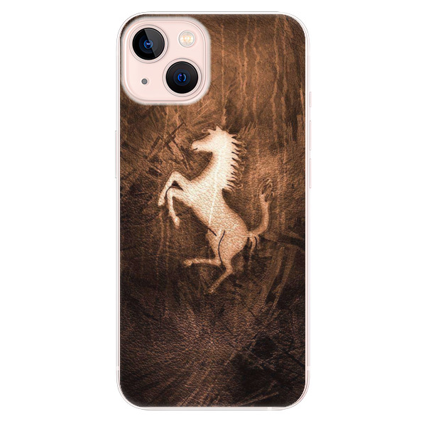 Odolné silikonové pouzdro iSaprio - Vintage Horse - iPhone 13