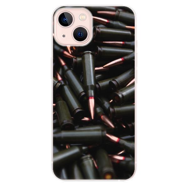 Odolné silikonové pouzdro iSaprio - Black Bullet - iPhone 13