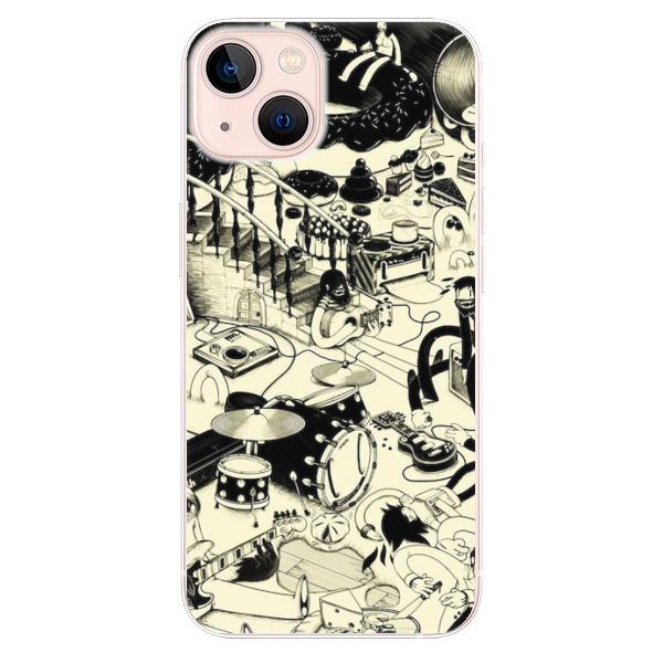 Odolné silikonové pouzdro iSaprio - Underground - iPhone 13