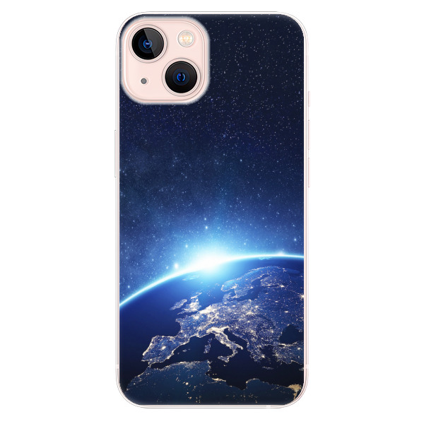 Odolné silikonové pouzdro iSaprio - Earth at Night - iPhone 13