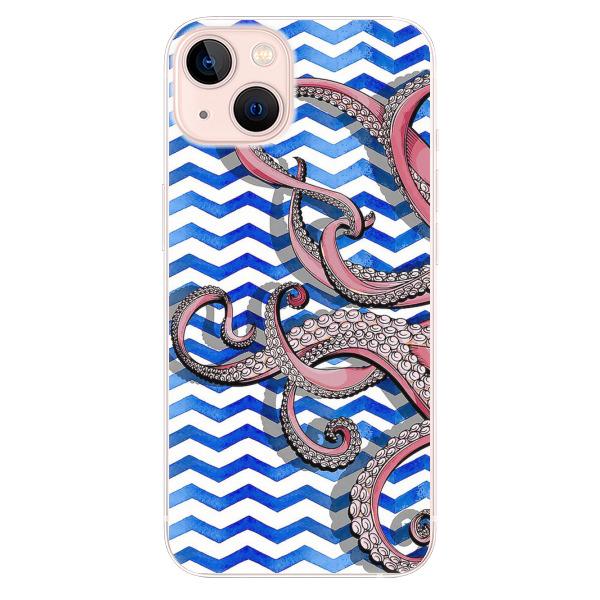 Odolné silikonové pouzdro iSaprio - Octopus - iPhone 13
