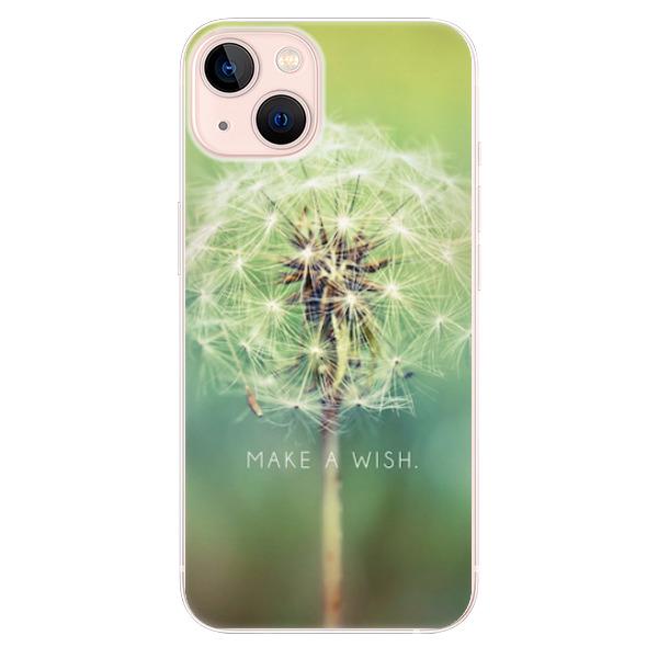 Odolné silikonové pouzdro iSaprio - Wish - iPhone 13