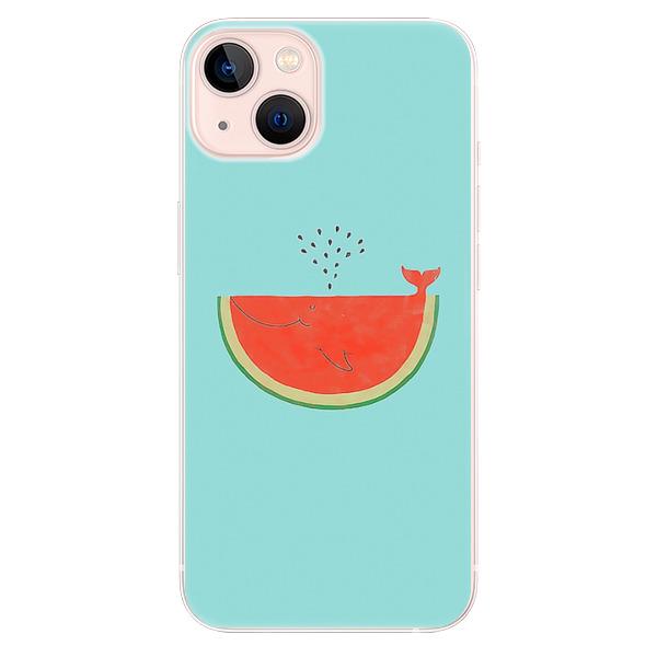 Odolné silikonové pouzdro iSaprio - Melon - iPhone 13