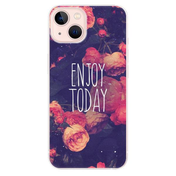 Odolné silikonové pouzdro iSaprio - Enjoy Today - iPhone 13
