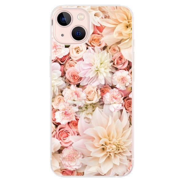 Odolné silikonové pouzdro iSaprio - Flower Pattern 06 - iPhone 13