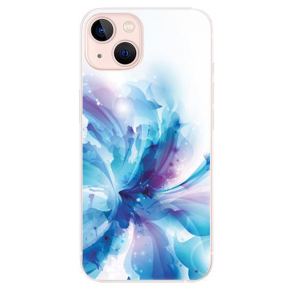 Odolné silikonové pouzdro iSaprio - Abstract Flower - iPhone 13