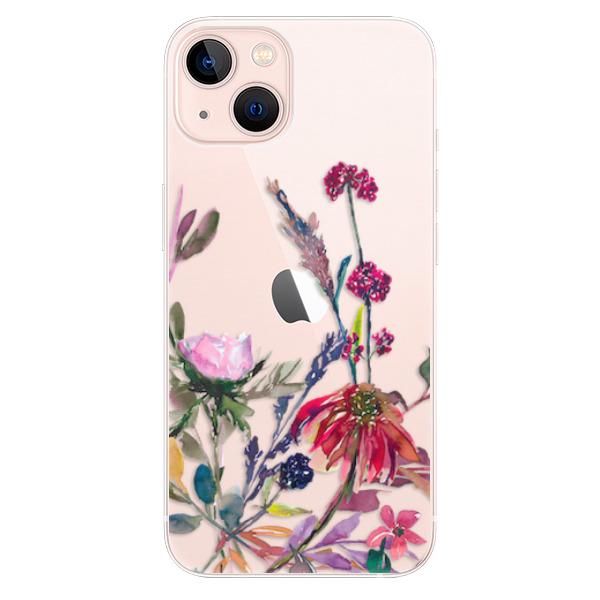 Odolné silikonové pouzdro iSaprio - Herbs 02 - iPhone 13