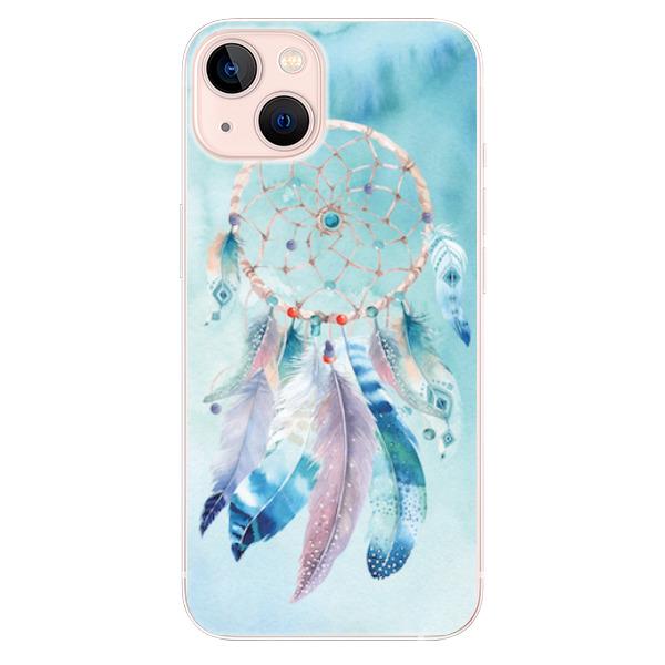 Odolné silikonové pouzdro iSaprio - Dreamcatcher Watercolor - iPhone 13