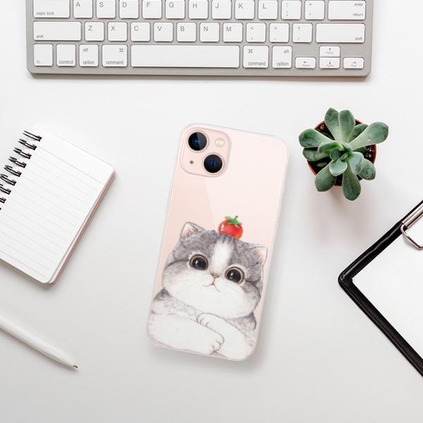 Odolné silikonové pouzdro iSaprio - Cat 03 - iPhone 13