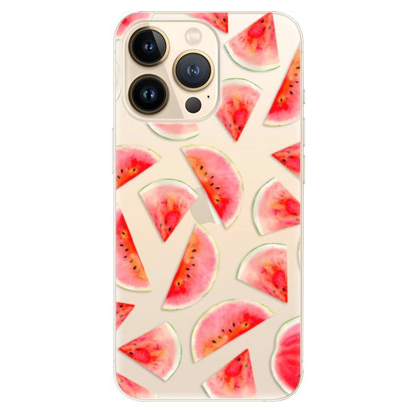 Odolné silikonové pouzdro iSaprio - Melon Pattern 02 - iPhone 13 Pro