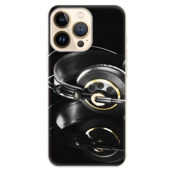 Odolné silikonové pouzdro iSaprio - Headphones 02 - iPhone 13 Pro