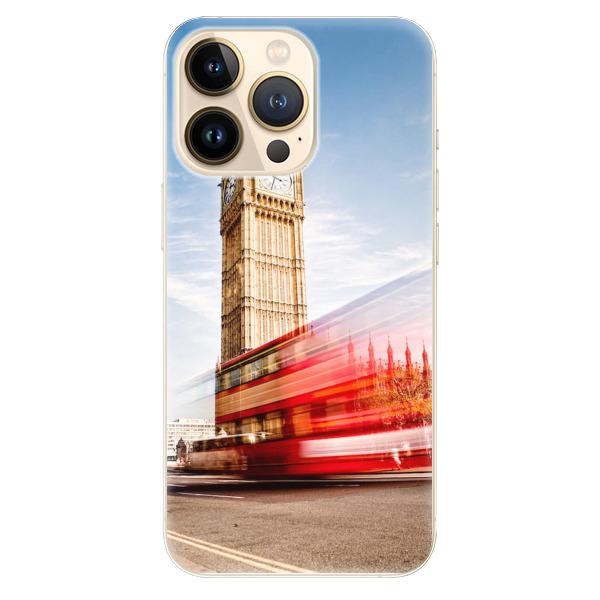 Odolné silikonové pouzdro iSaprio - London 01 - iPhone 13 Pro