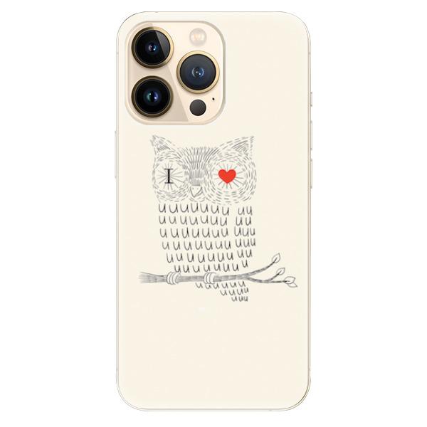 Odolné silikonové pouzdro iSaprio - I Love You 01 - iPhone 13 Pro