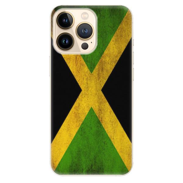 Odolné silikonové pouzdro iSaprio - Flag of Jamaica - iPhone 13 Pro