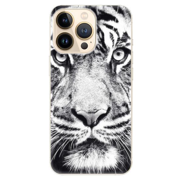 Odolné silikonové pouzdro iSaprio - Tiger Face - iPhone 13 Pro