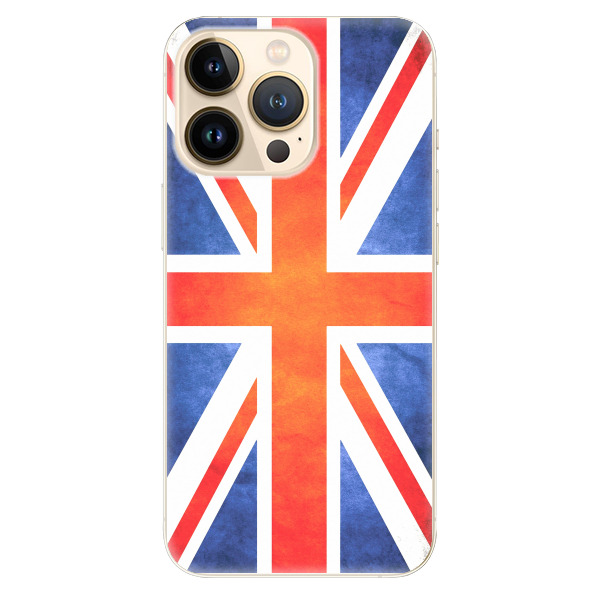 Odolné silikonové pouzdro iSaprio - UK Flag - iPhone 13 Pro