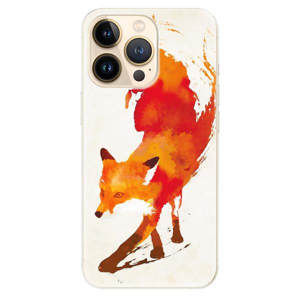 Odolné silikonové pouzdro iSaprio - Fast Fox - iPhone 13 Pro