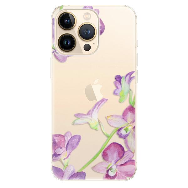 Odolné silikonové pouzdro iSaprio - Purple Orchid - iPhone 13 Pro