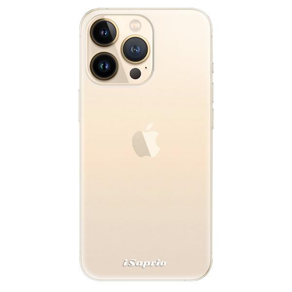 Odolné silikonové pouzdro iSaprio - 4Pure - mléčný bez potisku - iPhone 13 Pro