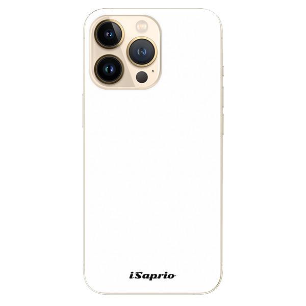 Odolné silikonové pouzdro iSaprio - 4Pure - bílý - iPhone 13 Pro