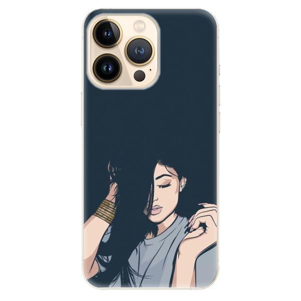 Odolné silikonové pouzdro iSaprio - Swag Girl - iPhone 13 Pro
