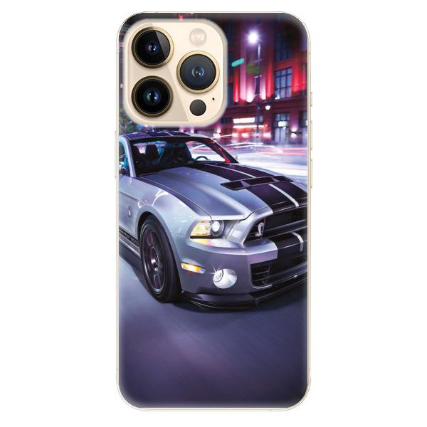 Odolné silikonové pouzdro iSaprio - Mustang - iPhone 13 Pro