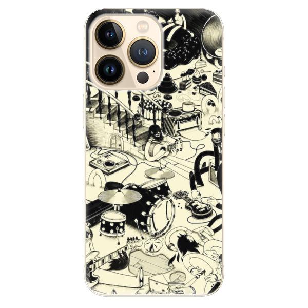 Odolné silikonové pouzdro iSaprio - Underground - iPhone 13 Pro