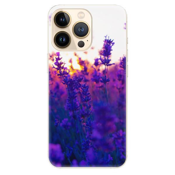 Odolné silikonové pouzdro iSaprio - Lavender Field - iPhone 13 Pro