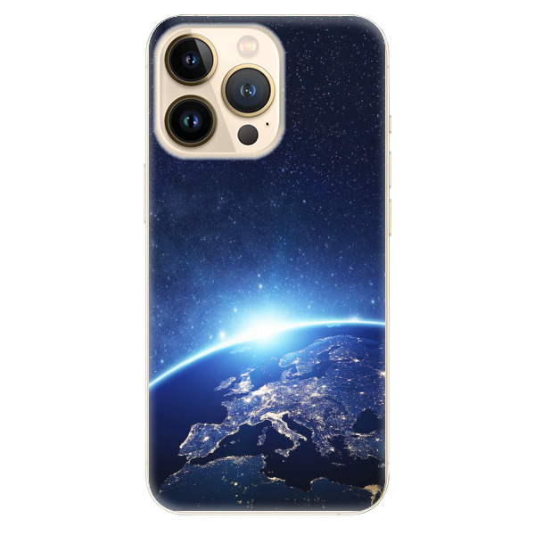 Odolné silikonové pouzdro iSaprio - Earth at Night - iPhone 13 Pro