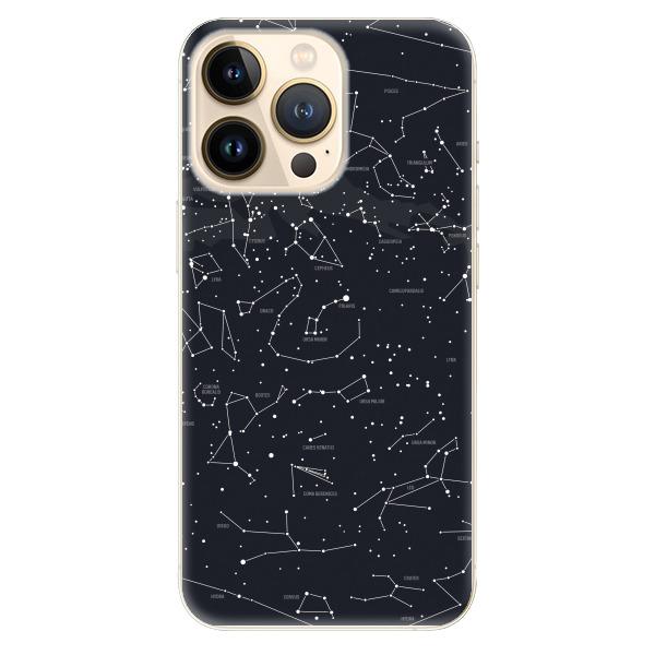 Odolné silikonové pouzdro iSaprio - Night Sky 01 - iPhone 13 Pro