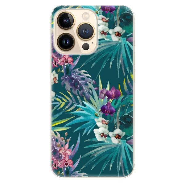 Odolné silikonové pouzdro iSaprio - Tropical Blue 01 - iPhone 13 Pro