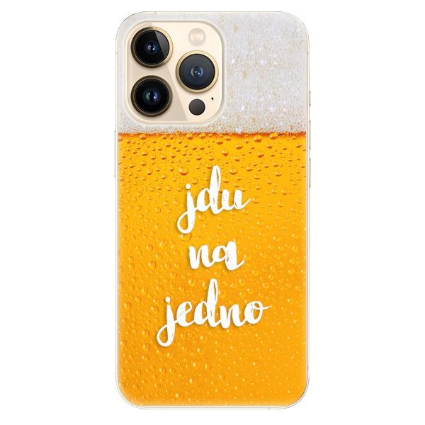 Odolné silikonové pouzdro iSaprio - Jdu na jedno - iPhone 13 Pro