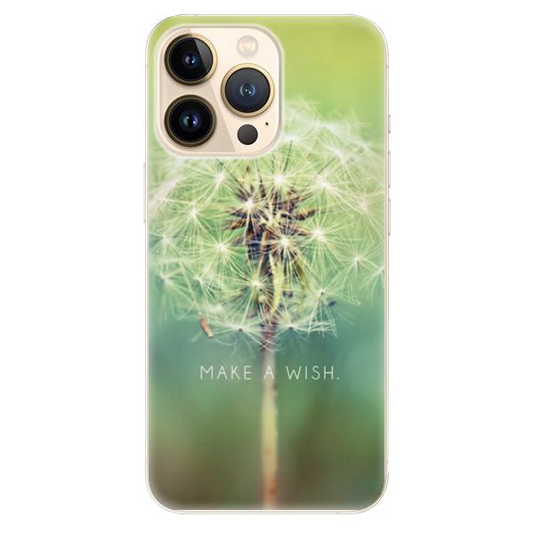 Odolné silikonové pouzdro iSaprio - Wish - iPhone 13 Pro