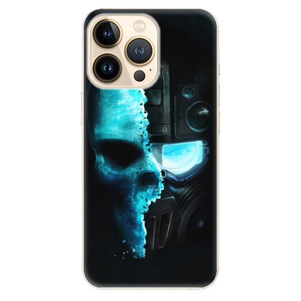 Odolné silikonové pouzdro iSaprio - Roboskull - iPhone 13 Pro
