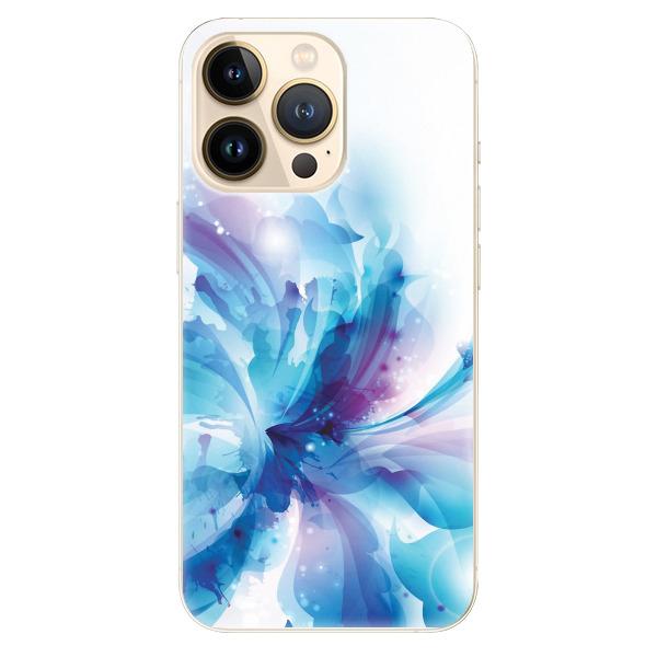 Odolné silikonové pouzdro iSaprio - Abstract Flower - iPhone 13 Pro
