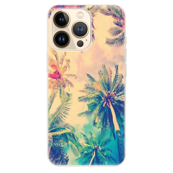 Odolné silikonové pouzdro iSaprio - Palm Beach - iPhone 13 Pro