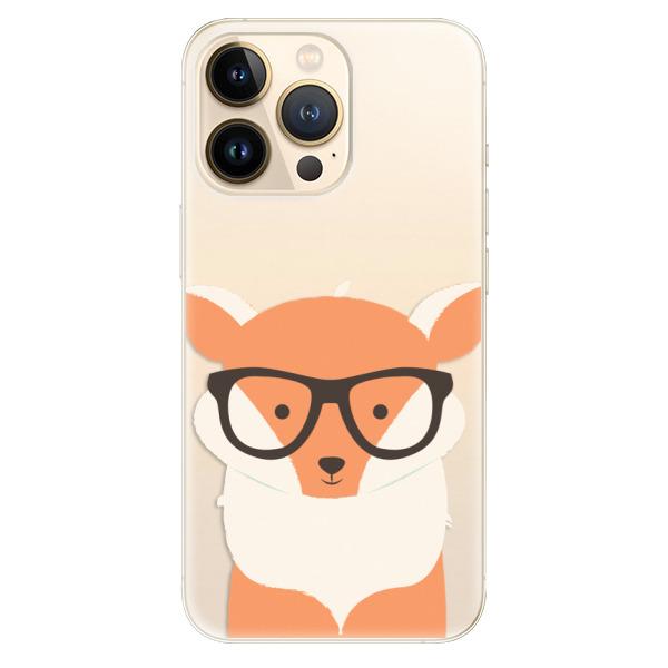 Odolné silikonové pouzdro iSaprio - Orange Fox - iPhone 13 Pro