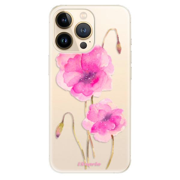 Odolné silikonové pouzdro iSaprio - Poppies 02 - iPhone 13 Pro