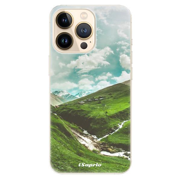 Odolné silikonové pouzdro iSaprio - Green Valley - iPhone 13 Pro