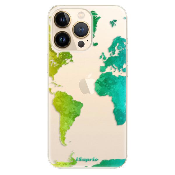 Odolné silikonové pouzdro iSaprio - Cold Map - iPhone 13 Pro