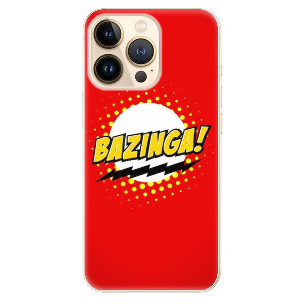 Odolné silikonové pouzdro iSaprio - Bazinga 01 - iPhone 13 Pro Max