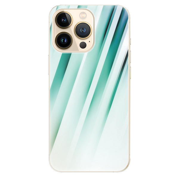 Odolné silikonové pouzdro iSaprio - Stripes of Glass - iPhone 13 Pro Max